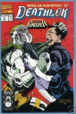 Deathlok #6 1991 Marvel Comics Punisher