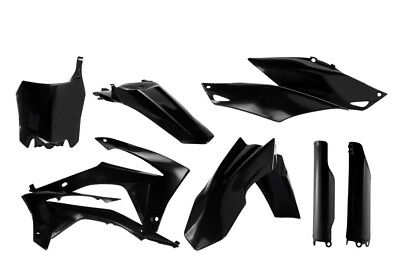 Acerbis Full Plastic Kit For Honda CRF250R CRF450R Black 2314410001
