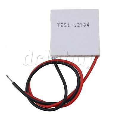 TES1-12704 DC12V Thermoelectric Peltier Cooler Heat Sink Plate Module
