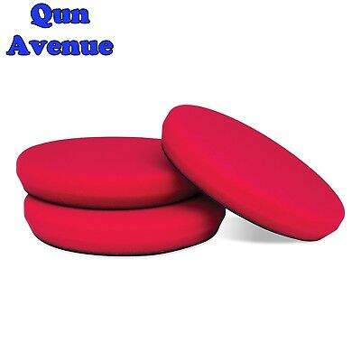 "Griot's Garage (10620-3PK) Red 6.5"" Foam Waxing Pad, (Pack of 3)"