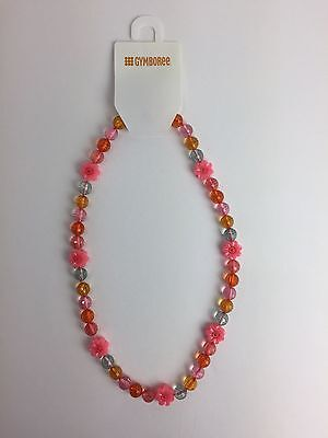 NWT Gymboree Girls Tropical Garden Flower Bead Necklace 3 4 5 6 7 8 10 12 NEW