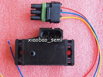 MAP Sensor GM STYLE 3BAR 3 BAR For Electromotive Motec Megasquirt With Plug New