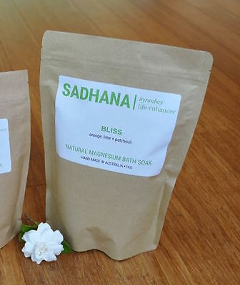 BLISS 1kg | Magnesium Bath Salts w Essential Oils | End of Stock, Must Go!