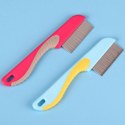 UK Pet Hair Flea Comb Grooming Puppy Cat Cleaning Stainless Pin Brush Fashion