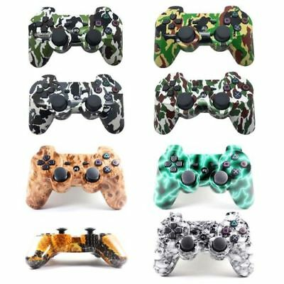 Wireless Bluetooth Camouflage Game Remote Controller Gamepad Joystick For PS3