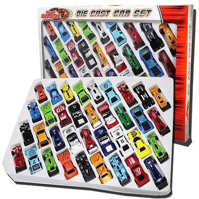 Assorted 36pcs DieCast Cars Gift Set F1 Racing Vehicle Children Kids Play Toy