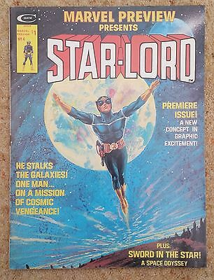 MARVEL PREVIEW 4 featuring STAR-LORD, 1ST APPEARANCE, 1976, MARVEL COMICS, VF-