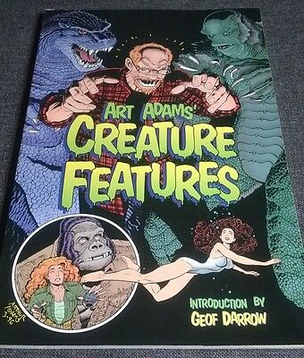 ART ADAMS CREATURE FEATURES  COMIC  BOOK GODZILLA-CREATURE from the BLACK LAGOON