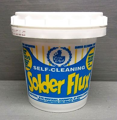 Plumbers Flux For Professionals - CREST / GOOD Self Cleaning Solder Flux 4oz.