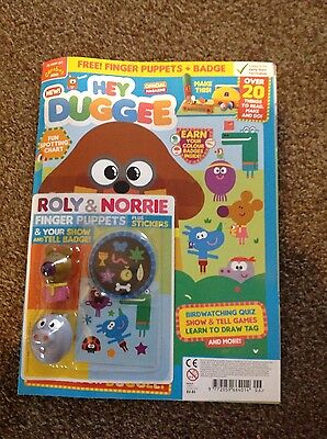 HEY DUGGEE OFFICIAL MAGAZINE #6 roly & norrie
