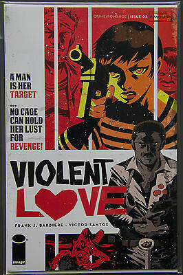VIOLENT LOVE #2 (2016) Victor Santos Variant Cover Image Comics Bagged & Boarded