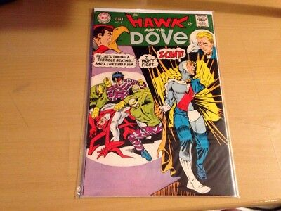 Hawk And The Dove Lot Of 5 Silver Age