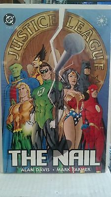 JUSTICE LEAGUE: THE NAIL #'s 1-3 (Complete Limited Series of Graphic Novels)