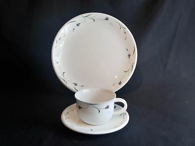 Mikasa Meadow Sweet Y4218  Set of Cup & Saucer and Dinner Plate