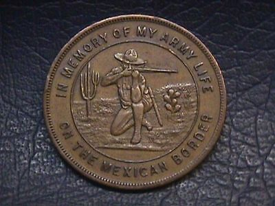 Service On The Mexican Border 1916 So-Called Dollar HK-894. free shipping