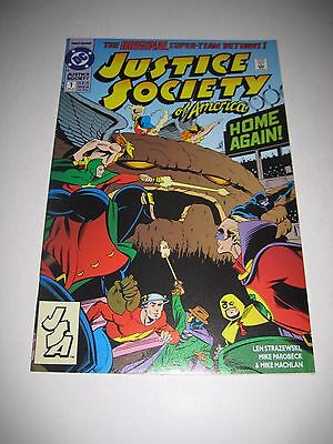 Justice Society of America 1 Jesse Quick Comics Picture of Actual Item