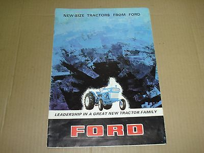 Ford Major Dexta Tractor Sales Brochure