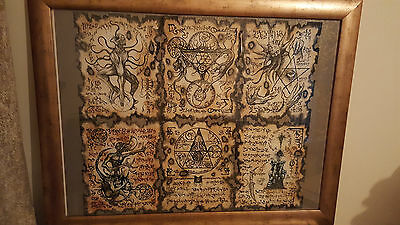 #necronomicon Framed Fragments#occult Demonology Hp Lovecraft Evil Dead Watain