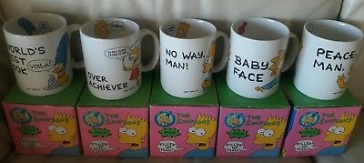 The Simpsons COLLECTIBLES MUGS