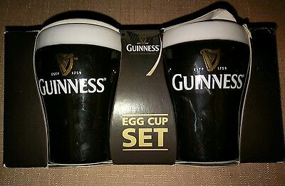 Guinness Ceramic Egg Cup Set New in Box