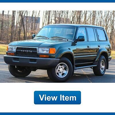 1994 Toyota Land Cruiser Base Sport Utility 4-Door 1994 Toyota Land Cruiser  Rare FJ80 3rd ROW 4WD 4x4