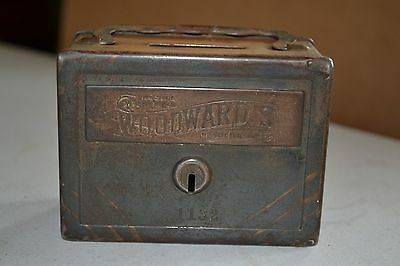 The Woodward's Advertising Metal Bank