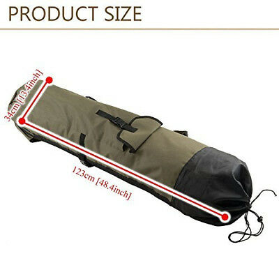 PLAYDO Fishing Rod Reel Travel Carry Case Carrier Holder Pole Tool Storage Bags