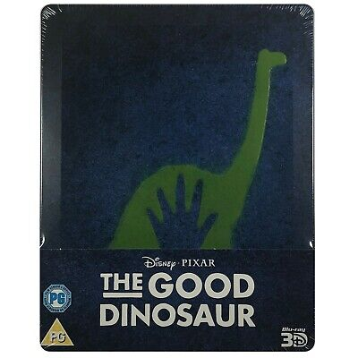 The Good Dinosaur 3D & 2D Steelbook - UK Exclusive Limited Edition Blu-Ray