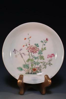 Chinese Enameled Porcelain Bowl, Chrysanthemum.