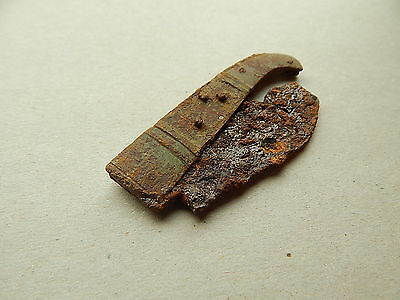 Ancient medieval folding knife 16 - 17 AD