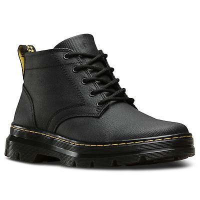 Dr.Martens Bonny Black Mens Waxy Canvas Ankle Chukka Boots