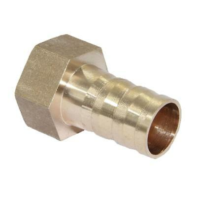 Straight Brass Fitting BSP 1/2'' Female 16mm Barb Quick Joint Pipe Connector