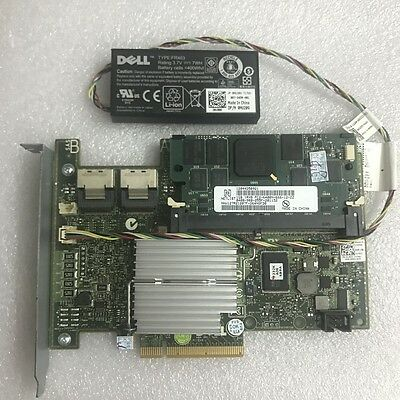 DELL PERC H700 6Gb/s 1G RAID CONTROLLER for POWEREDGE R510 R610 with battery