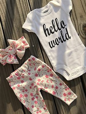 ac32ee16d BEAUTIFUL BABY COMING Home Outfit. Going Home From Hospital -  22.00 ...