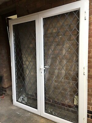 Upvc french opening inwards doors double openers patio for Double glazed upvc patio doors