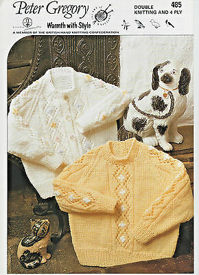 1320cd961 PETER GREGORY BABY Double Knitting   4 Ply Pattern Instructions ...