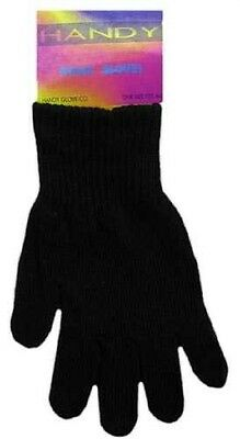 Unisex Magic Stretch Black One Size Fits All  Gloves Winter New Running Sports
