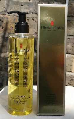 Elizabeth Arden Ceramide Replenishing Cleansing Oil 195ml New