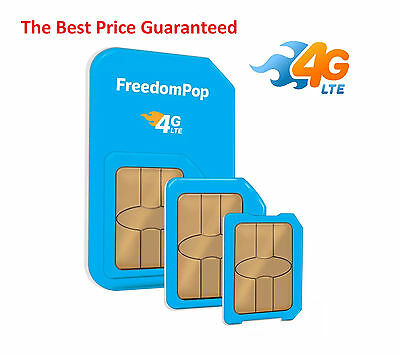 Pre-activated FreedomPop 4G LTE SIM Free 700Mb/Month on AT&T network+ Guide
