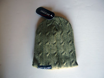 System of a Down Knit Small Logo Patch Ski Cap, Beanie, Hat, RARE & OOP