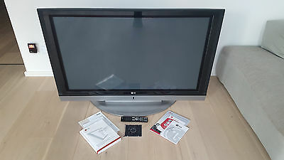 lg 127 cm 50 zoll plasma fernseher eur 150 00. Black Bedroom Furniture Sets. Home Design Ideas