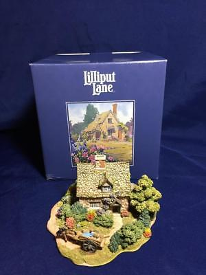 Htf Lilliput Lane Cruck End #855 Anniversary Cottage 1996