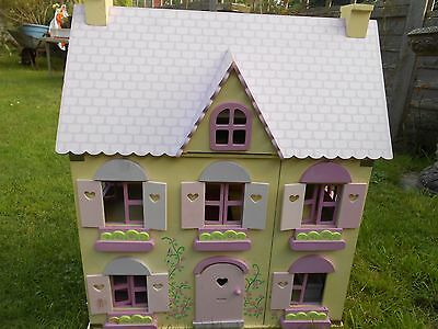Wooden Early Learning Centre Dolls House Good Condition Picclick Uk