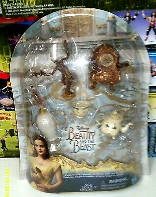 Disney Beauty and the Beast Castle Friends Collection brand new