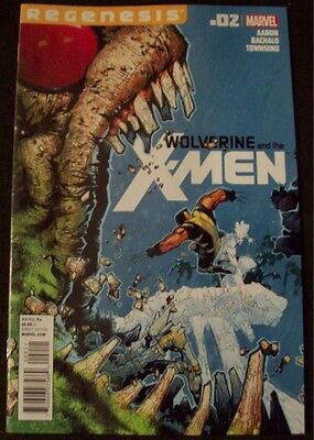 Wolverine and the X-Men #2 Jason Aaron Marvel Comics 1st Print CHRIS BACHALO