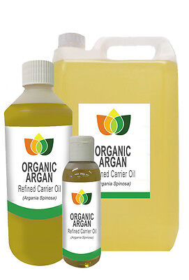 Argan Oil Moroccan Organic Refined Pure Base Carrier Massage Aromathery