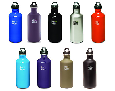 Klean Kanteen 1182ml Classic Water Bottle (w/Loop Cap) RRP £24.95