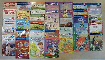 Lot 42 Step Into Reading, Penguin Young Readers, Ready To I Can Read Level 1 2 3