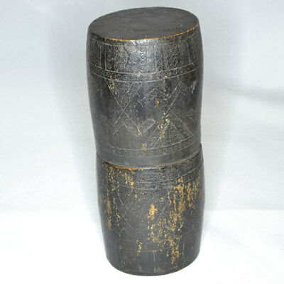 Old Bamboo Betel Nut / Sirih Container, Timor, Indonesia