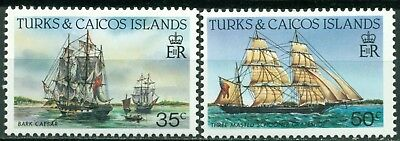 Turks & Caicos Islands Scott #585-586 MNH Ships CV$4+